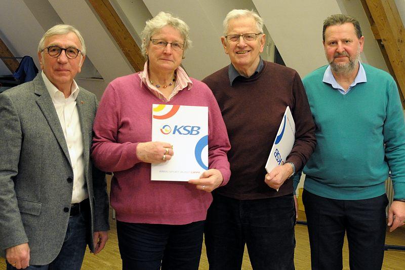 Winfried Starke, Edith Krumme, Günter Mischer, Peter Breyer