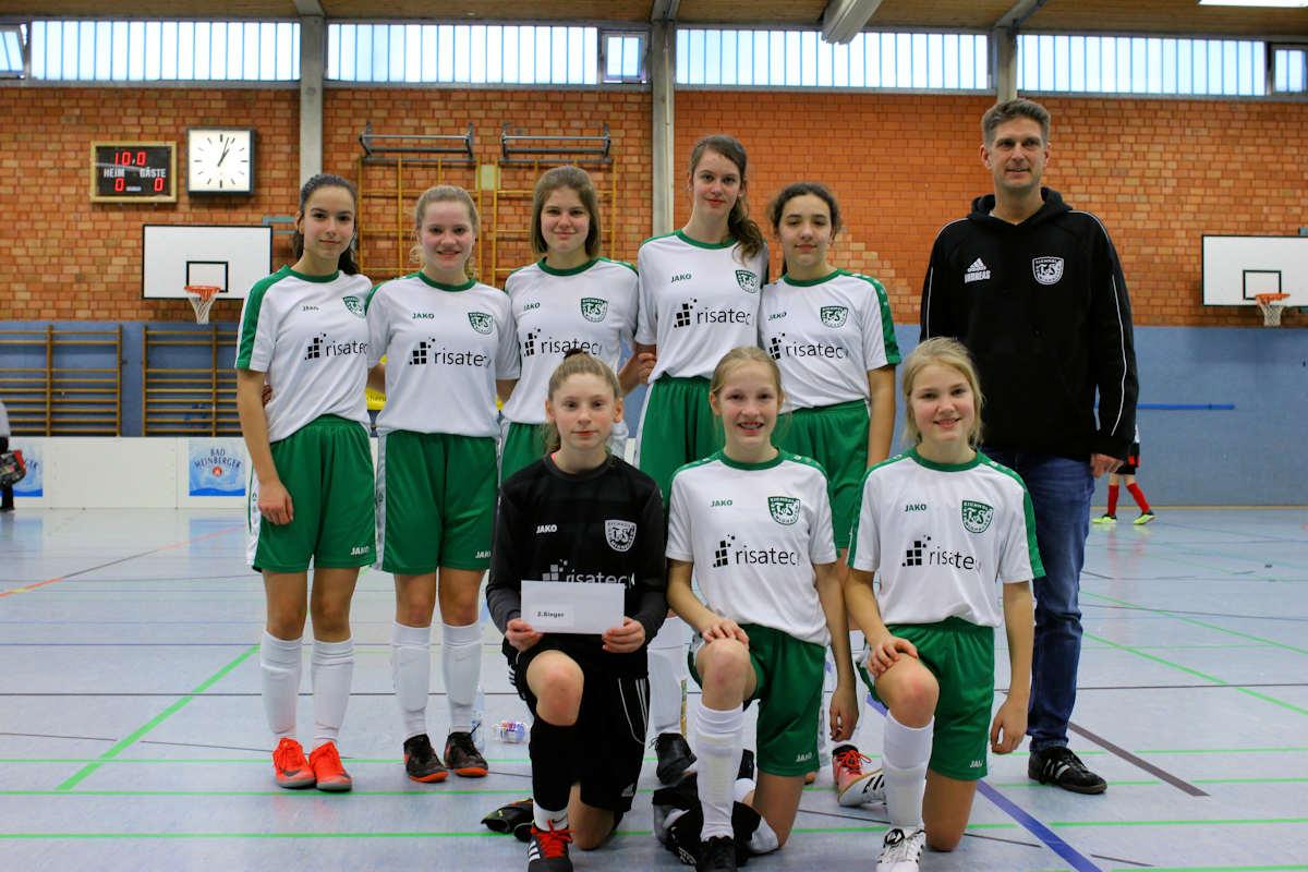 B-Juniorinnen - Gratulation zu Platz 2 in Barntrup