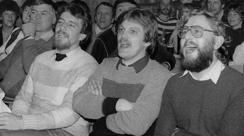 """1981 – Auf dem Saal bei """"Sigges"""""""