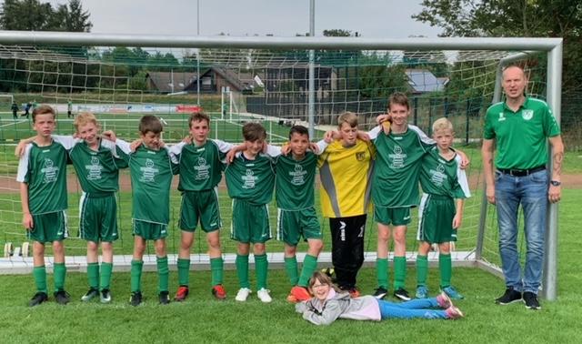 D2 Junioren Mannschaft weiterhin auf Erfolgskurs
