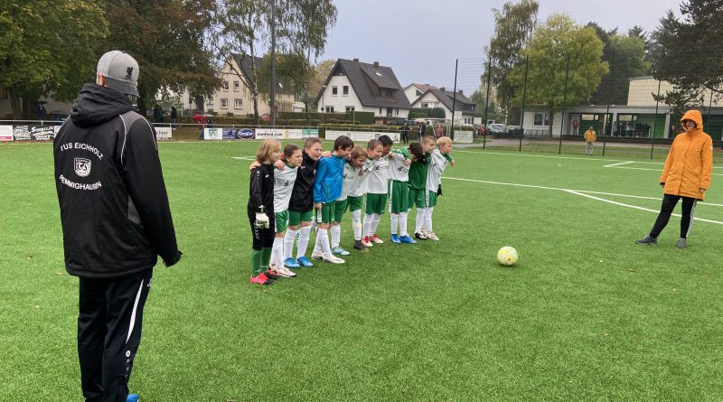 E-Jugend testet gegen die Sportfreunde Berlebeck-Heiligenkirchen
